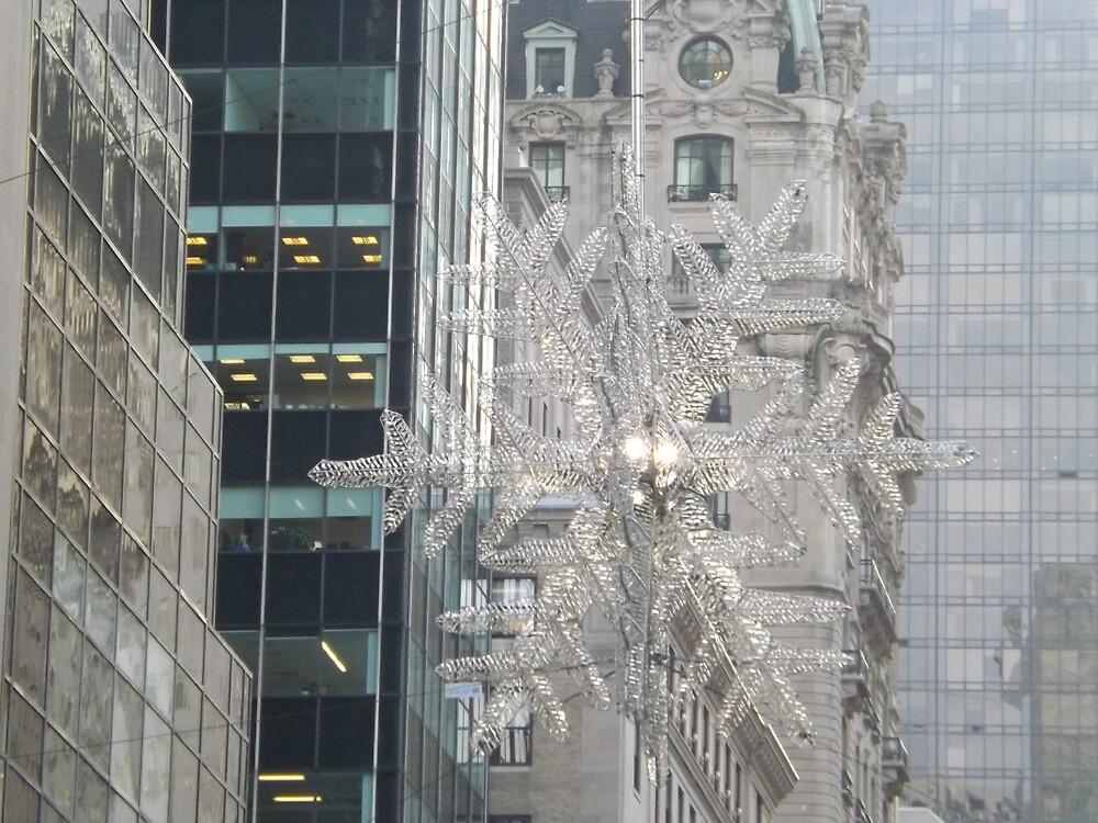 Holiday Star, Midtown Manhattan, New York City by lenspiro