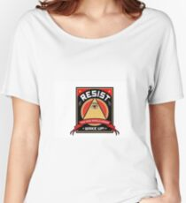 Resist! Women's Relaxed Fit T-Shirt