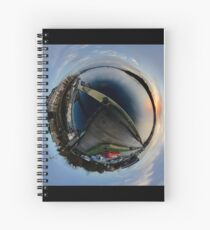 Foyle Marina at Dawn, Stereographic Spiral Notebook
