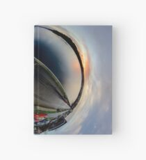 Foyle Marina at Dawn, Stereographic Hardcover Journal