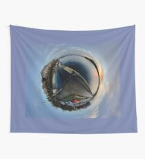 Foyle Marina at Dawn, Stereographic Wall Tapestry