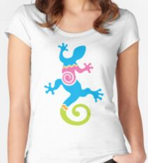 Southwest gecko Women's Fitted Scoop T-Shirt