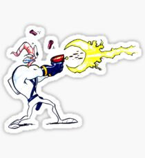 Earthworm Jim  Sticker