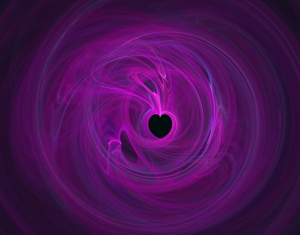 Purple heart by Sylvain Francois