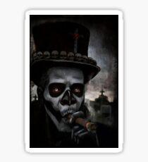 Voodoo Man Sticker