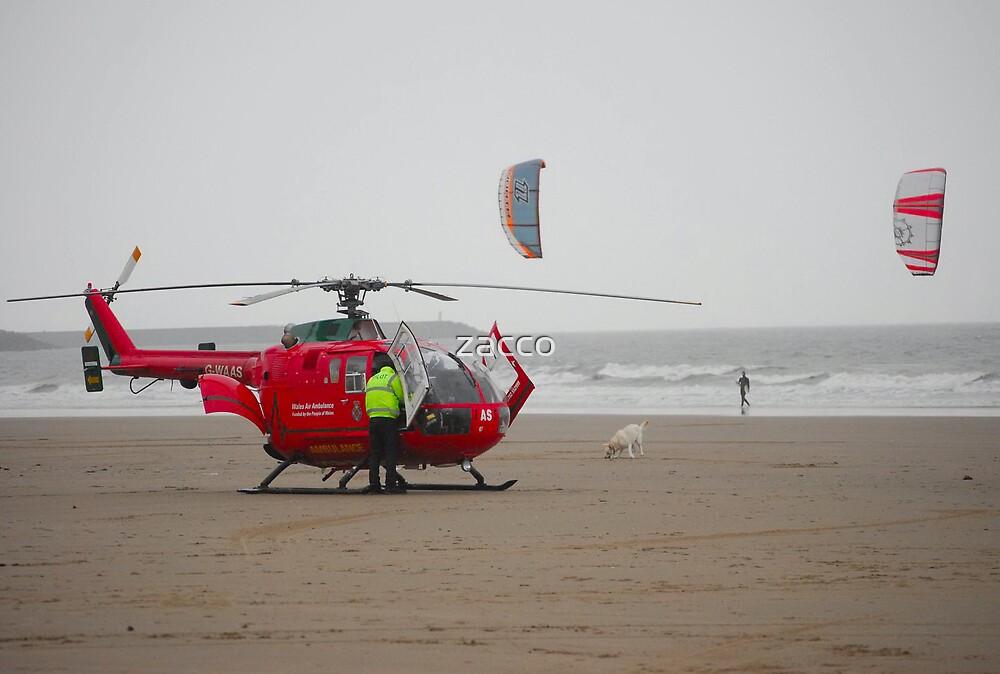 wales air ambulance by zacco