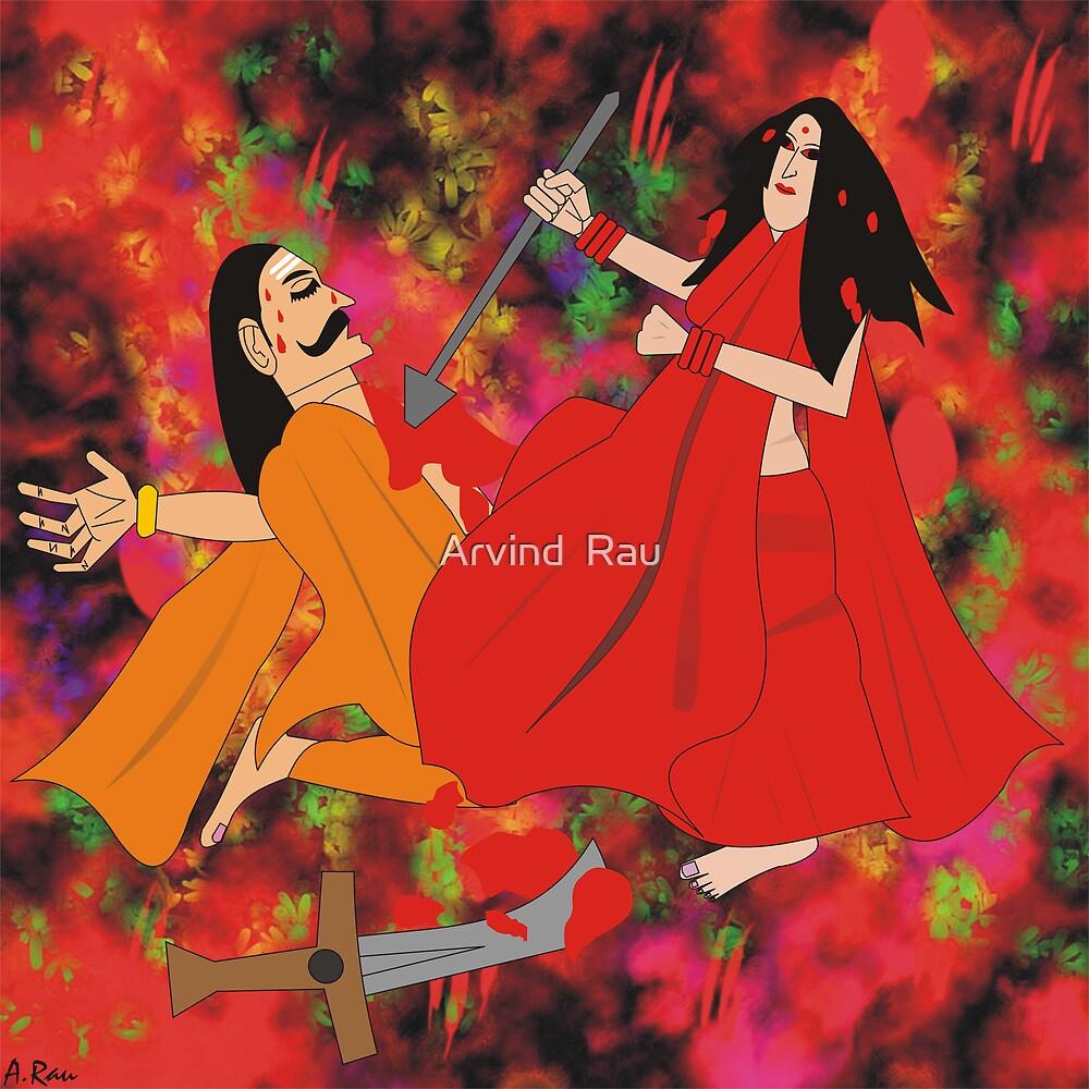 Mahishasur Mardini by Arvind  Rau
