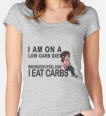 Low Carb Diet Women's Fitted Scoop T-Shirt