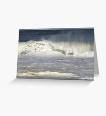 Jersey Surf Greeting Card