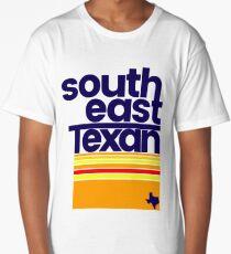 South East Texan Regional Shirt Funny Texas Southeast TX Long T-Shirt