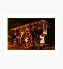 Showmans Engine Art Print