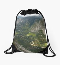 Yosemite Valley Drawstring Bag