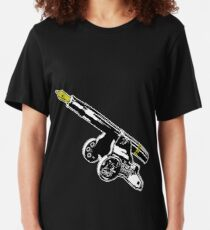 The Pen is mightier than the Sword - Round 2 (Cannon vs Canon) Slim Fit T-Shirt