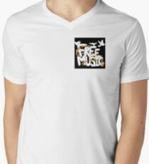 Free Music Clothing & Accessories T-Shirt