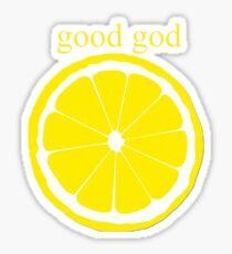 Good God Lemon Sticker