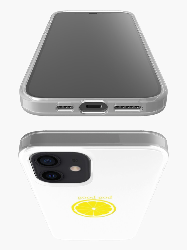 Alternate view of Good God Lemon iPhone Case & Cover