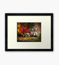 Into the wilderness Framed Print