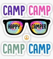 Happy Camper CAMP Sticker