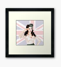 The best of British to you Framed Print