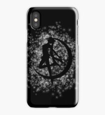 Stars on the moon iPhone Case