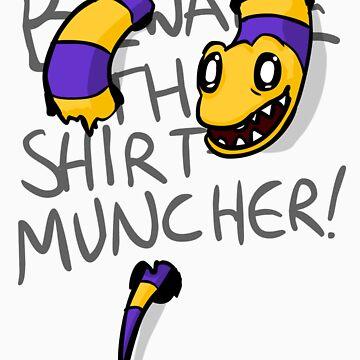 Beware the Shirt Muncher by Chrisguydeux1
