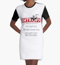 Entropy Graphic T-Shirt Dress
