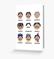Spanish Dad | Los Dads Greeting Card