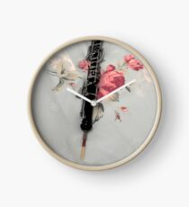 Hauntingly Beautiful Oboe Clock