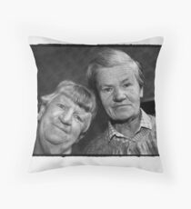 Veronica and Ida Throw Pillow
