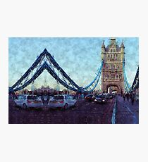 Bermondsey Divergence - Tower Bridge, London Photographic Print