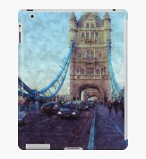 Bermondsey Divergence - Tower Bridge, London iPad Case/Skin