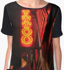 ink anytime? Women's Chiffon Top