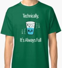 Funny Science Humor Classic T-Shirt