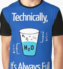 Funny Science Humor Graphic T-Shirt