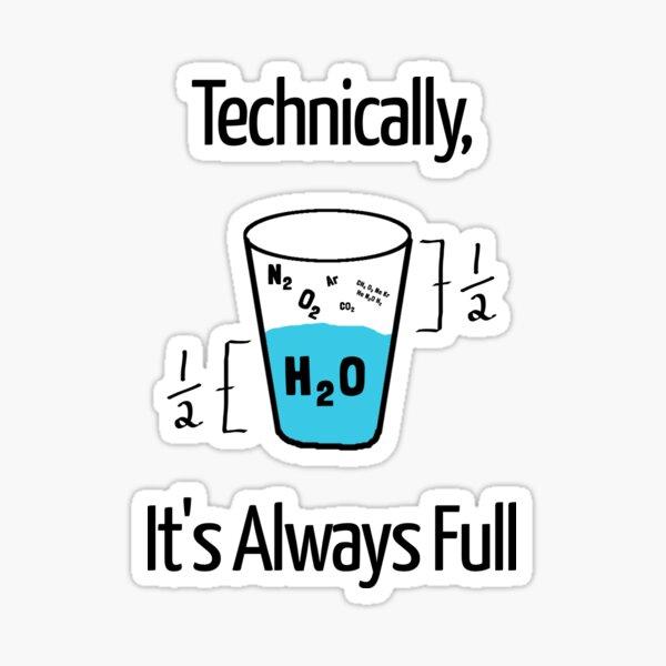 Funny Science Humor Sticker