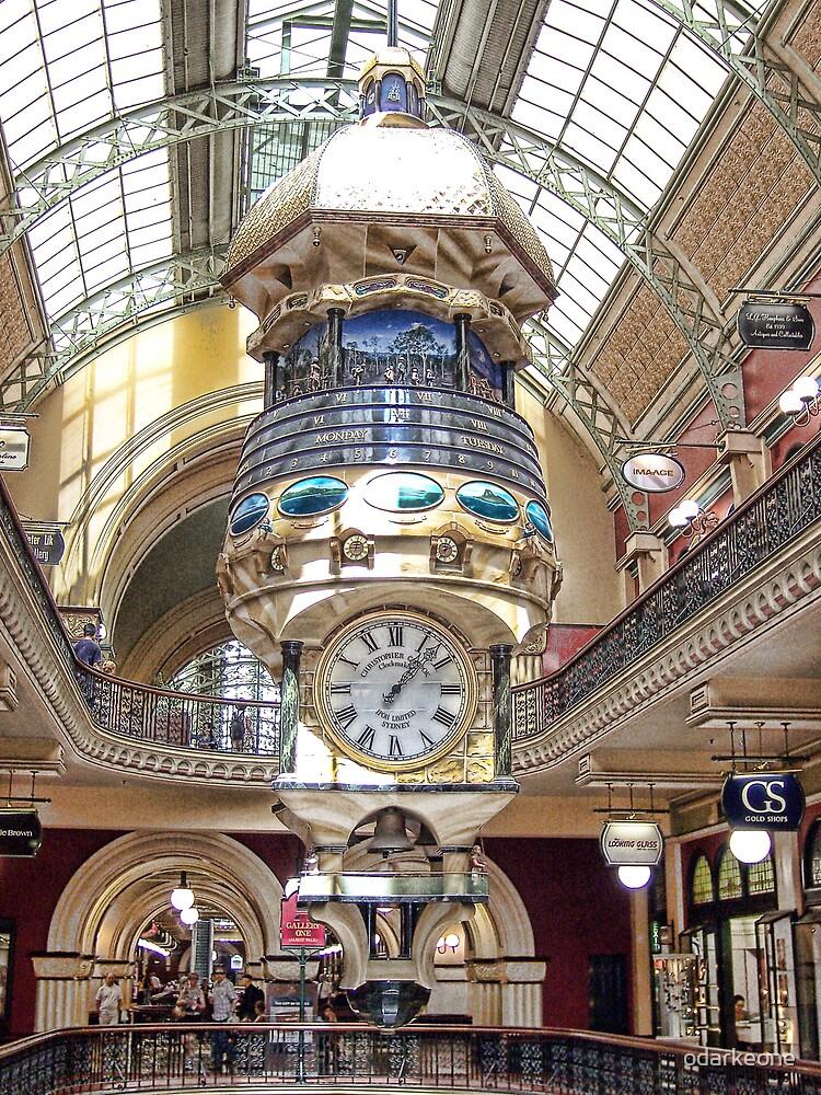 Christopher Clock by odarkeone