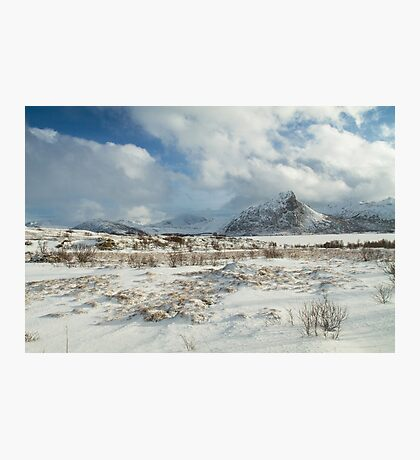 The Land of snow Photographic Print