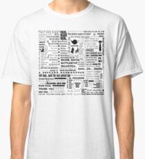 Die Office-Anführungsgrafik Classic T-Shirt