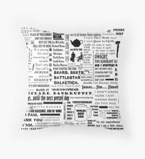 The Office Quotes Graphic Throw Pillow