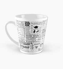 The Office Quotes Graphic Tall Mug