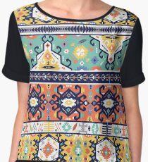 Tribal seamless colorful pattern Chiffon Top