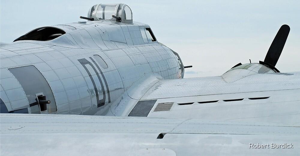 B-17G by Robert Burdick