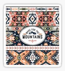 Tribal seamless colorful pattern Sticker
