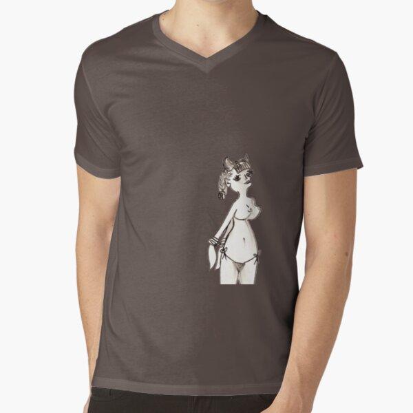 bonded V-Neck T-Shirt
