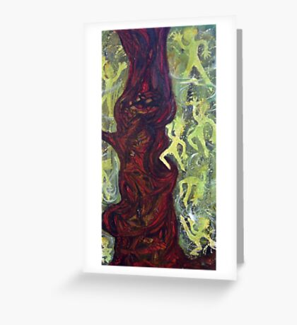 Pixie tree Greeting Card