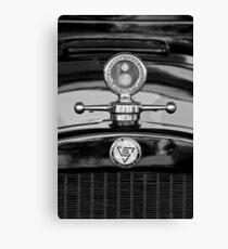 1928 Dodge Brüder Hood Ornament - Moto Meter-1226bw Leinwanddruck