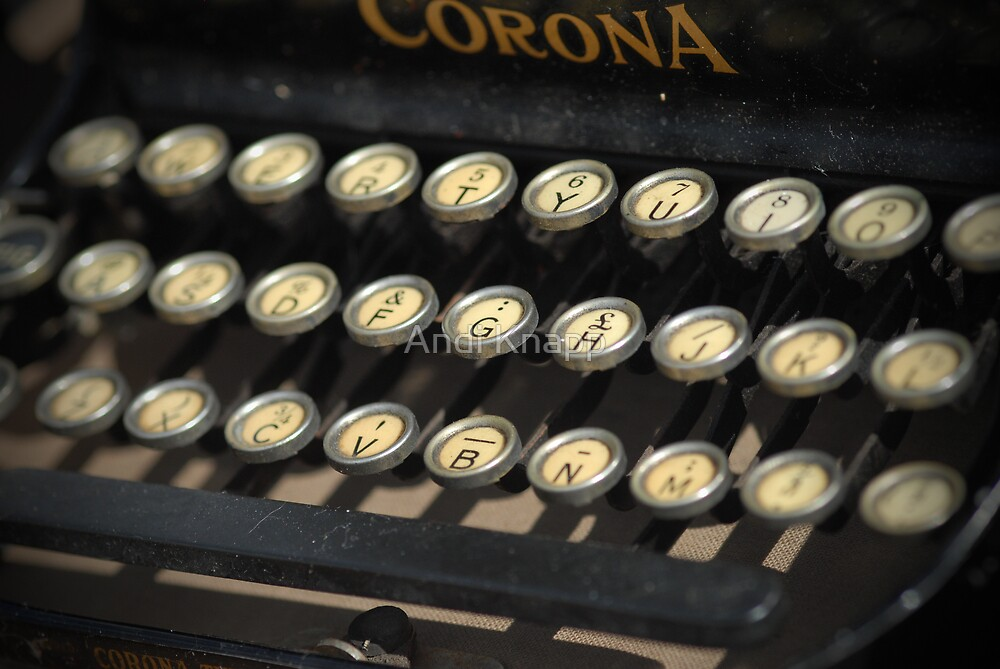 Typewriter by Andi Knapp