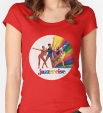 Jazzercise Women's Fitted Scoop T-Shirt