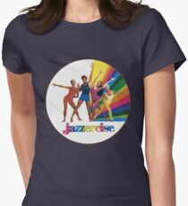 Jazzercise Womens Fitted T-Shirt