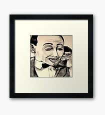 I'm trying to use the phone! Framed Print